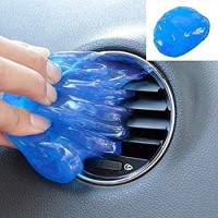 Kaamastra Multipurpose Car Ac Vent Interior Keyboard Laptop PC Electronic Products Cleaning Cleaner Slime Gel Jelly Putty Kit Pack of 1 Vehicle Interior Cleaner(80 g)