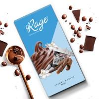 Rage Fruity Bar Creamy Mousse Chocolate Bar 90 gm Bars(90 g)