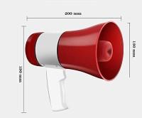 Hi-PLASST SM-20240 Megaphone SM-20240 20 Watts Handheld Dynamic Megaphone Outdoor, Indoor PA System (20 W) with Talk/Record/Play/Music/Siren Outdoor PA System(20 W)