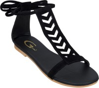 GIBELLE Women Black Flats