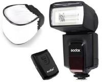 GODOX GODX TT520II Flash with WON Diffuser Flash(Black)