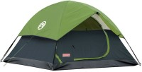 Coleman Sundome 3 Person Tent - For Trekking, Camping(Green)