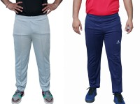 airsnipe Solid Men Dark Blue, Grey Track Pants