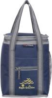 Right Choice office tiffin bag for all men women boys & girls stylish lunchbag handbag Navy Blue Grey (3007) Waterproof Lunch Bag(Dark Blue, Blue, 10 L)
