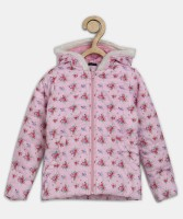 Chemistry Full Sleeve Floral Print Girl's Jacket