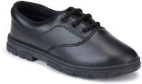 Earton Boys Black School Wear Shoe