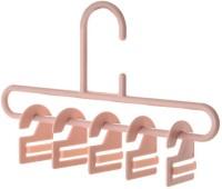 Removable Wall Hook Hanger Home Wardrobe Storage Rack Bedroom Holder (Pink