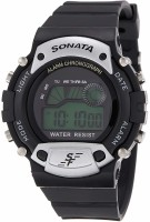 Sonata NG7982PP02J Digital Watch  - For Men