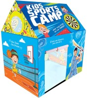 Miss & Chief Sports Camp Play House Tent for Kids(Multicolor)