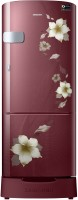 Samsung 192 L Direct Cool Single Door 3 Star 2020 BEE Rating Refrigerator(Star Flower Red, RR20T1Z2YR2/HL) (Samsung)  Buy Online