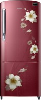 Samsung 192 L Direct Cool Single Door 3 Star 2020 BEE Rating Refrigerator(Star Flower Red, RR20T172YR2/HL) (Samsung)  Buy Online