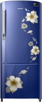 Samsung 192 L Direct Cool Single Door 3 Star 2020 BEE Rating Refrigerator(Star Flower Blue, RR20T172YU2/HL) (Samsung)  Buy Online