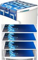 LooMantha Fridge Mat(Blue)