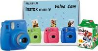 FUJIFILM Instax Mini 9 Value Cam (Cobalt Blue) with 20 Film Shot Instant Camera(Blue)