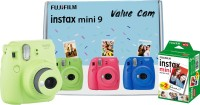 FUJIFILM Instax Mini 9 Value Cam (Lime Green) with 20 Film Shot Instant Camera(Green)