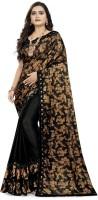 S.B Creation Embellished Fashion Lycra Blend Saree(Multicolor)