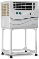 Symphony 41 L Desert Air Cooler(White, Kaizen 41 with Trolley)