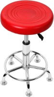 STYLBASE Leather Bar Stool(Finish Color - red)