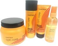 Matrix Opti Care Shampoo(200Ml), Conditioner(98G),Serum(100Ml) And Masque(490G)(4 Items in the set)