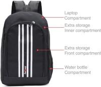 LeeRooy MN- Canvas 20 Ltr Black Luggage Bag Backpack For Men 20 Backpack Black