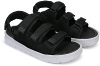 Earton Men Black Sandals