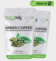 Nutrovally green coffee beans for weight loss A Unroasted Instant Coffee(2 x 225 g, Green Coffee Flavoured)