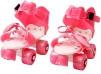PS Aakriti Skates Shoes For Kids / Childrens - UNISEX In-line Skates - Size 12-16 UK (Multicolor) Quad Roller Skates - Size 4-7 UK In-line Skates - Size 5-7 UK(Red, Pink)