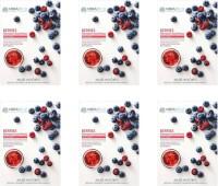 Mirabelle Cosmetics Korea  BERRIES FAIRNESS FACIAL MASK PACK OF 6 25 ml