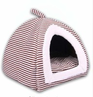 Di Grazia Soft Warm Waterproof Tent Bed House Plush Cozy Nest Mat Pad Cushion Cave for Pets Dog Puppy Cat Rabbit Cat House
