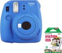 FUJIFILM Instax Mini 9+ C32l4t Blue Instant Camera(Blue)