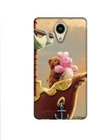 Casotec Funny Titanic Design Printed Silicon Soft TPU Back Case Cover for Panasonic Eluga Ray Max