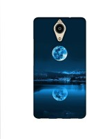 Casotec Moon Pattern Print Design Printed Silicon Soft TPU Back Case Cover for Panasonic Eluga Ray Max
