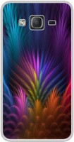Casotec Multicoloured Design Printed Silicon Soft TPU Back Case Cover for Samsung Galaxy On5