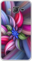 Casotec Colorfull Flower Design Printed Silicon Soft TPU Back Case Cover for Samsung Galaxy On5