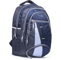 LUIS PAUL ZA80 LUCKY T20 Waterproof School Bag(Blue, Grey, 20 L)