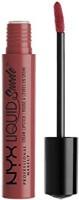 Nyx Professional Makeup Suede Cream Lipstick, Soft Spoken(Mauve Nude, 4 g)