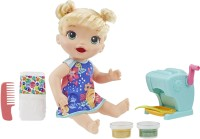 Baby Alive Snackin Shapes: Baby Doll That Eats and Poops with Accessories, For girls & boys 3 years old and up(Multicolor)