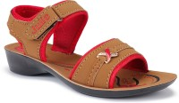 Bersache Sandals & Floaters Slip-On, Rexine For Women (1271)