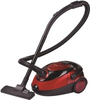 Inalsa Easy Clean Dry Vacuum Cleaner with Reusable Dust Bag(Red, Black)