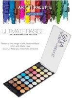ADJD 32 Color Hollywood Fashion Forever Eye shadow Palette 24 g (Multicolor) 24 g(MULTI COLOR)