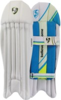 SG CAMPUS WICKET 2019 Men's (39 - 43 cm) Wicket Keeping Pad(White, Blue, WICKET KEEPER)