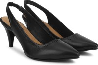 Bata Women Black Heels