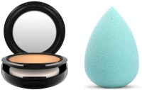 Trendysoul M.A.C Studio Fix Powder Plus Foundation and face foundation sponge puff(2 Items in the set)