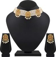 ASMITTA Jewellery Zinc Jewel Set(Gold, White)
