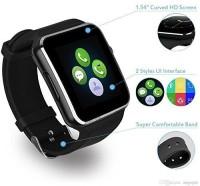 Bilton Camera,Bluetooth,SIM Card Smartwatch Black Smartwatch(Black Strap, Medium)