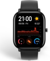Huami Amazfit GTS Smartwatch(Black Strap, Regular)