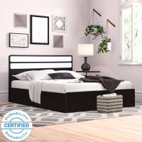 Flipkart Perfect Homes Medley Engineered Wood Queen Box Bed(Finish Color -  Dark Wenge)
