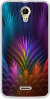 Casotec Multicoloured Design Printed Silicon Soft TPU Back Case Cover for iVooMi Me 4 iV 510