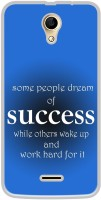 Casotec Success Motivational Design Printed Silicon Soft TPU Back Case Cover for iVooMi Me 4 iV 510