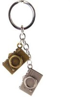 Techpro Metal Camera Design Loocking Keychain/Keyring Metal Key Chain
